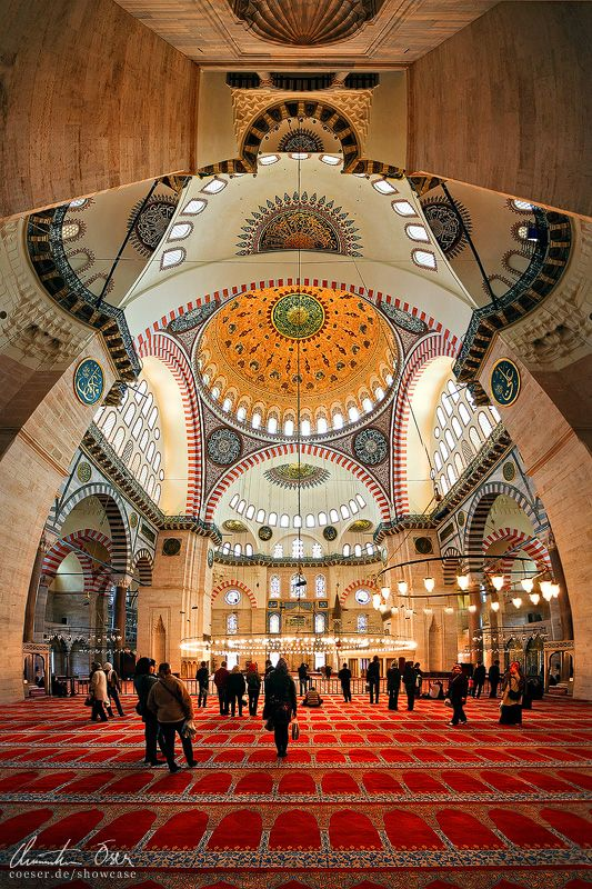 Istanbul, Sueleymaniye Mosque by Nightline.deviantart.com on @deviantART