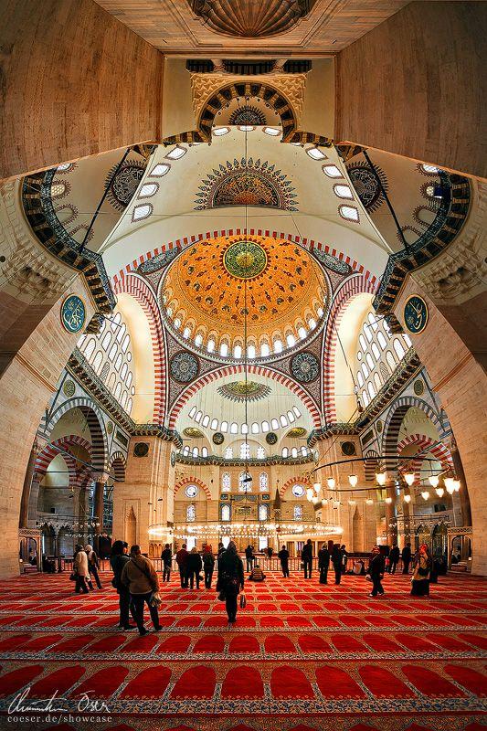 Istanbul, Sueleymaniye Mosque by Nightline.deviantart.com on @deviantART