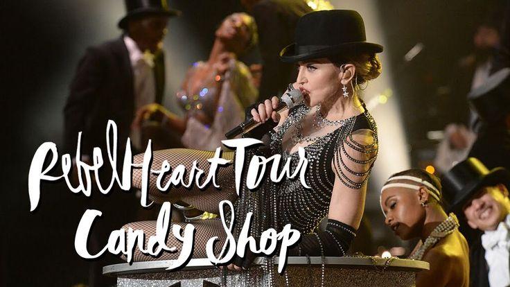 """Madonna performs """"Candy Shop"""" at her first Sydney Rebel Heart show. ▲ Instagram - https://instagram.com/ketobaberocks/ ▲ Facebook - http://www.facebook.com/K..."""