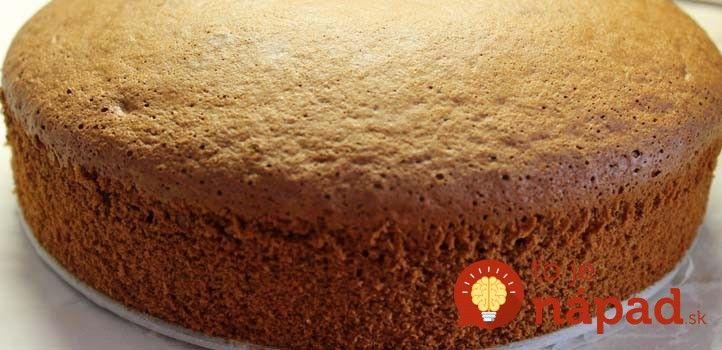 Nedarí sa vám upiecť perfektný korpus na tortu či koláč? S týmto receptom sa určite podarí, navyše, prinášame vám pomer surovín pre rôzne priemery formy.