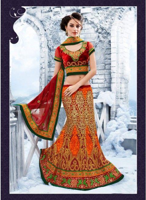 Charming Maroon Color Net Bases #Lehenga #Choli  #bridallehenga #ethnicwear #womenfashion #clothing #fashion
