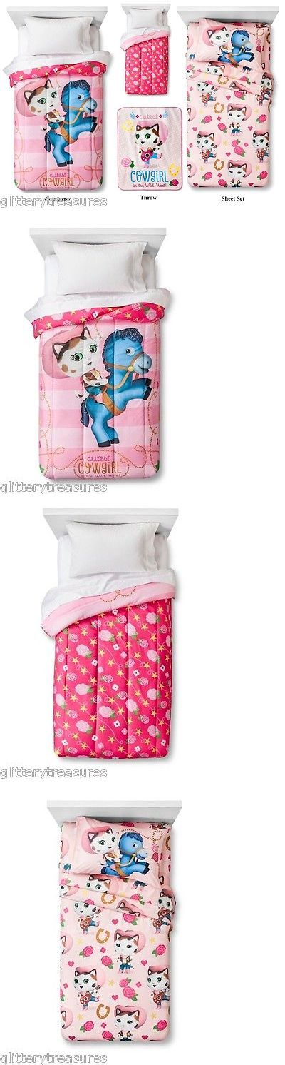 Kids at Home: New Kids Sheriff Callie Bedding Bed In A Bag Comforter Set -> BUY IT NOW ONLY: $149.99 on eBay!