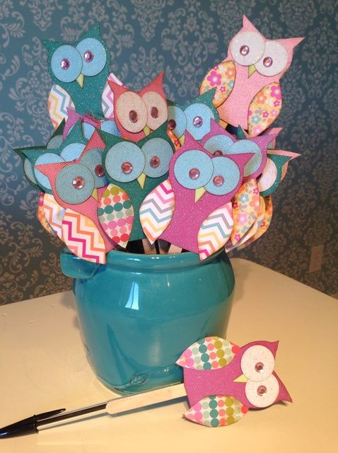 How to Create Owl Party Favors