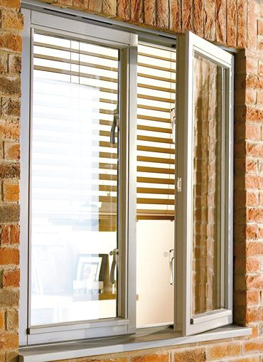 a window that swings outward or inward like a door, may be grouped.