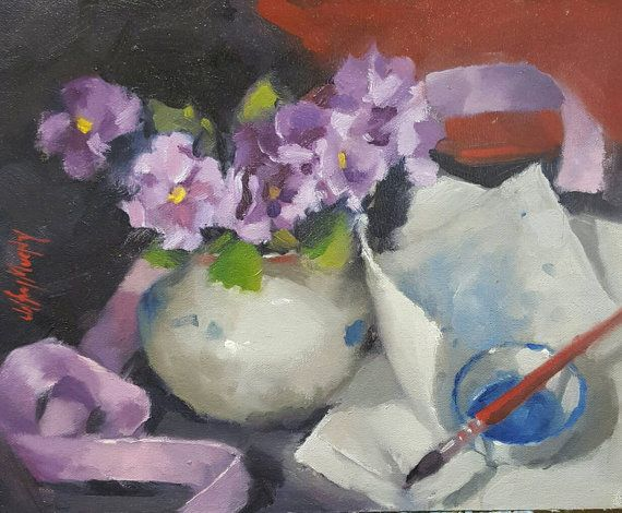 Check out this item in my Etsy shop https://www.etsy.com/au/listing/493590999/still-life-with-pansies