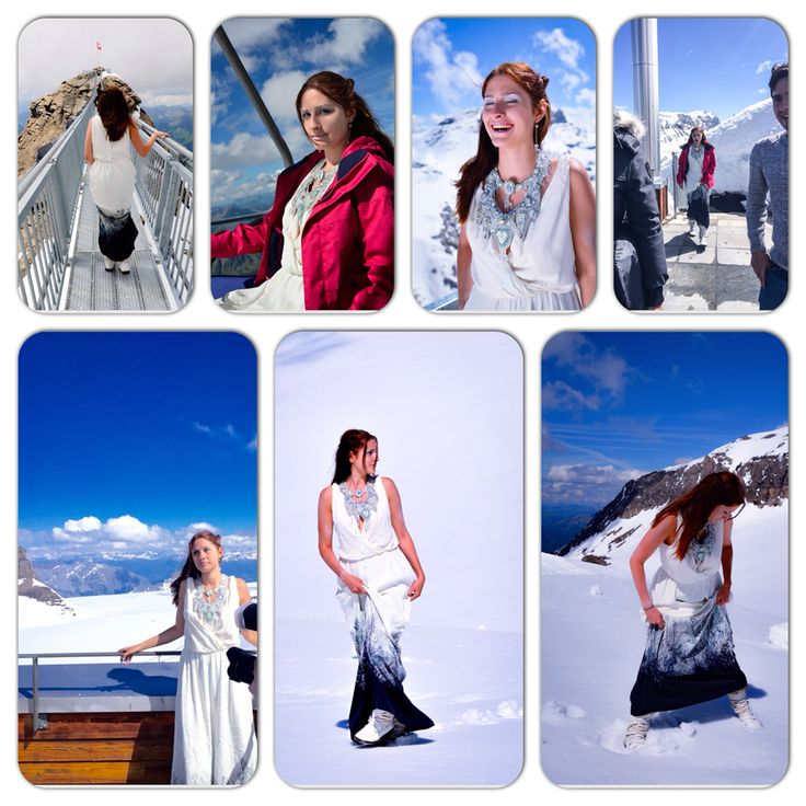 Shooting in Swiss Alpes  Glacier des Diablerets
