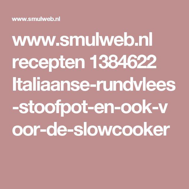 www.smulweb.nl recepten 1384622 Italiaanse-rundvlees-stoofpot-en-ook-voor-de-slowcooker
