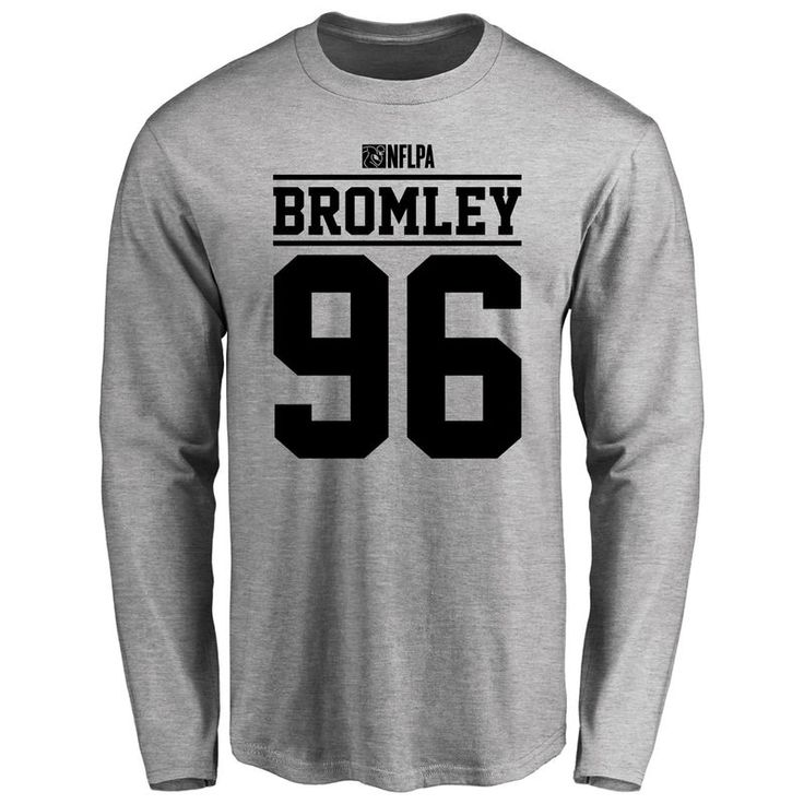 Jay Bromley Player Issued Long Sleeve T-Shirt - Ash