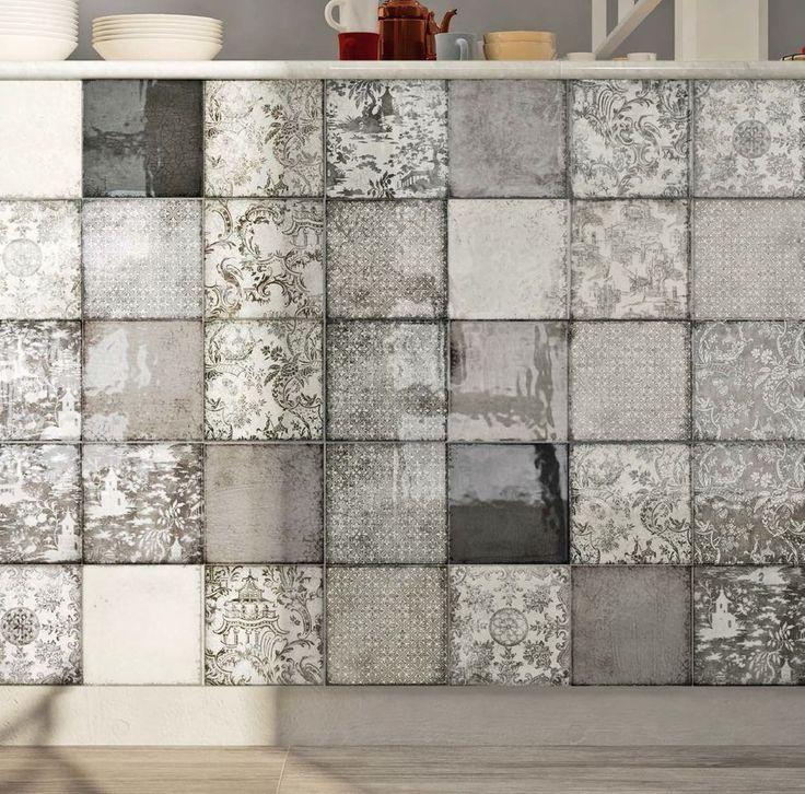 Imagination Maiolica tile, Iris ceramica #tiles #irisceramica