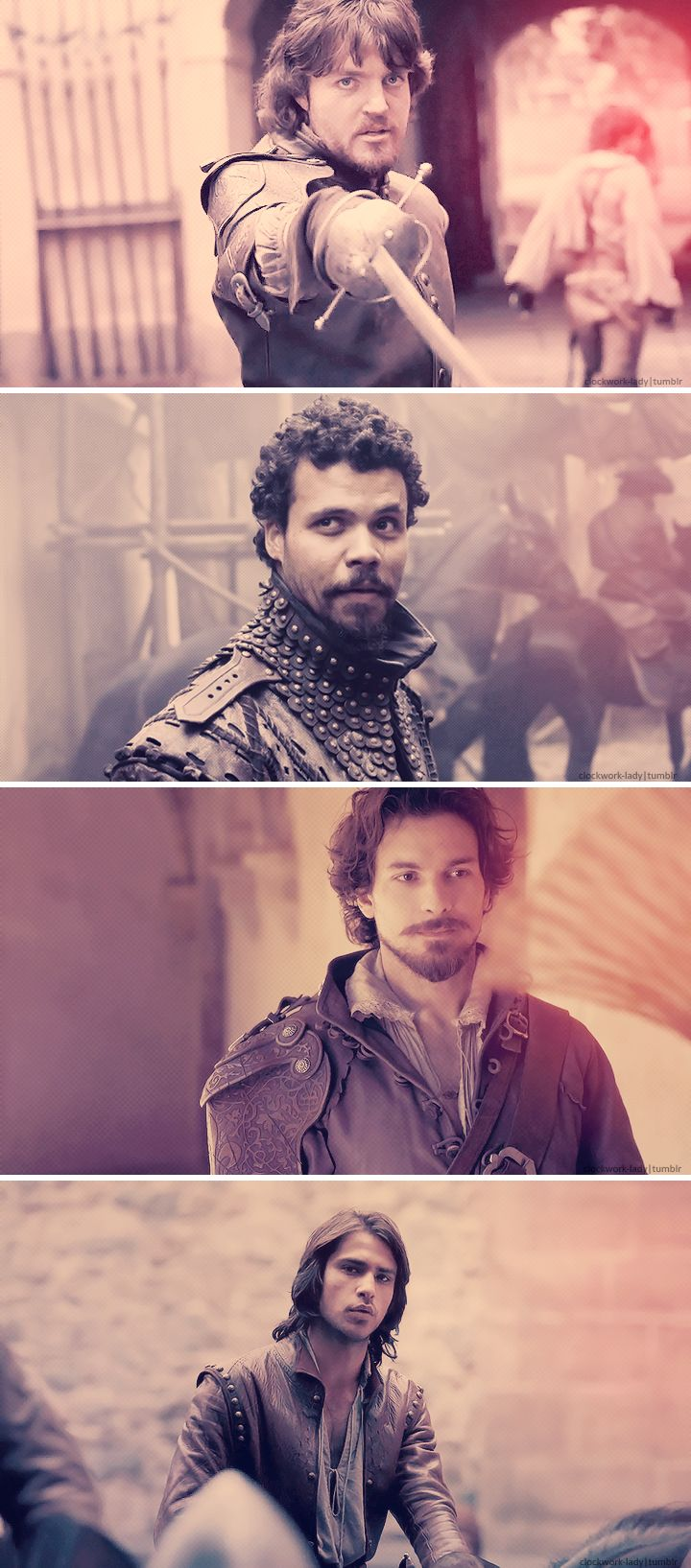 The Musketeers I have a thing for all 4 of them yum