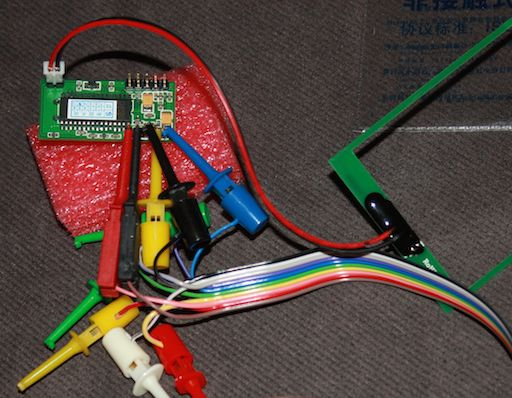 Bus Pirate fun – RDM880 RFID module