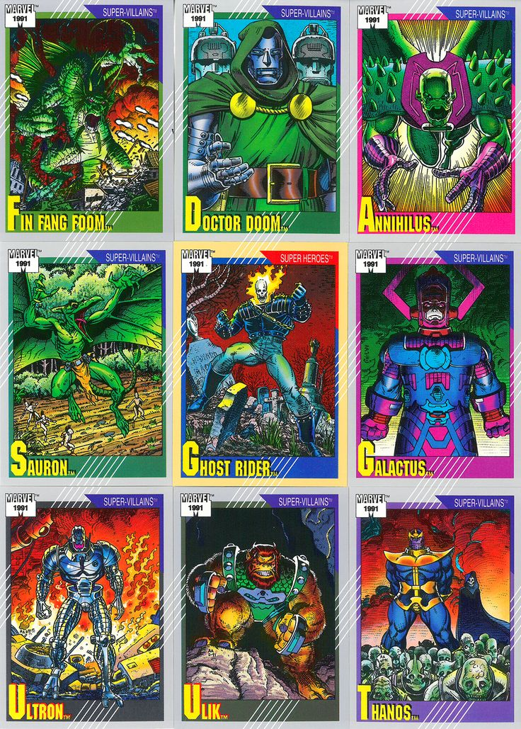 Impel's Second Series of Marvel Trading Cards (1991) - Art Adams