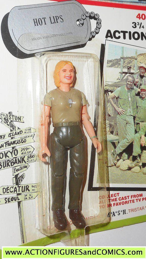 M*A*S*H* mash tv series action figures HOT LIPS 1982 moc action figure