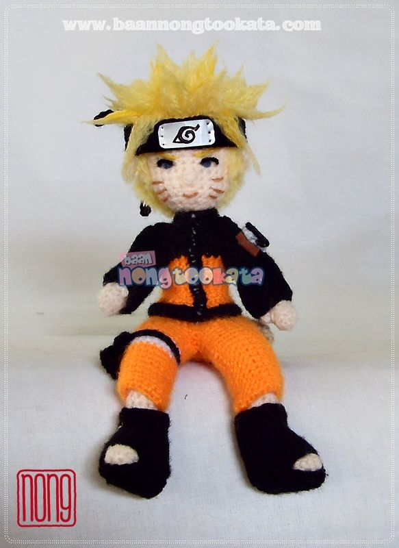 Naruto crochet movie character Pinterest Naruto