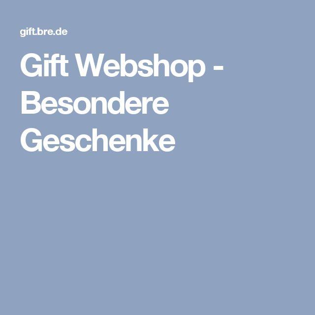 Gift Webshop - Besondere Geschenke
