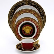 """Versace table set is a must for my """"fine china"""""""