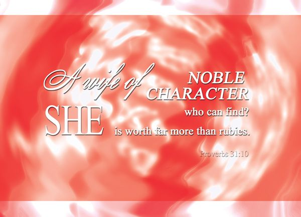 In this study, we will use real examples from the Bible to examine the validity of the idea that a wife of noble character is worth far more than rubies. Description from reversingverses.com. I searched for this on bing.com/images