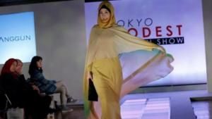 Peragaan Busana Muslim Pertama di Tokyo