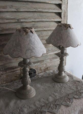 """Lampe """"les couleurs de brocantine"""""""