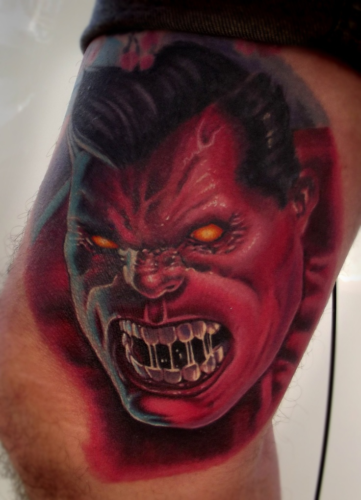 Money tattoo designs tattoo ideas pictures tattoo ideas pictures - Red Hulk Tattoo Portrait My Tattoo Works Pinterest