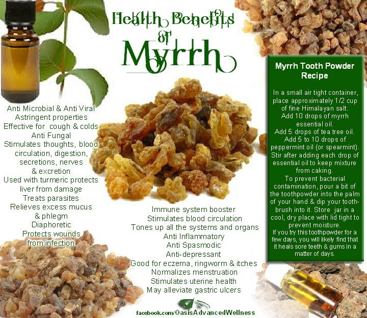 Health Benefits of Myrrh Young Living Essential Oils  Anybody interested in purchasing the oils or learning more can email me at thepowerofpositiveoiling@gmail.com! :) I would be more than happy to help!   Or order here: https://www.youngliving.com/signup/?sponsorid=260887 7&enrollerid=2608877 Or check out their main website at www.youngliving.com