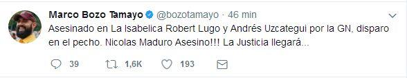 #Carabobo GNB asesina a dos manifestantes en La Isabelica - http://www.notiexpresscolor.com/2017/07/20/carabobo-gnb-asesina-a-dos-manifestantes-en-la-isabelica/