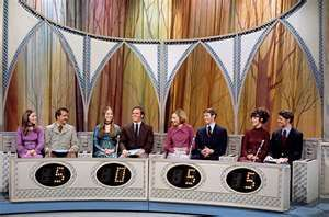 Newlywed Game - an eye opener for a teenager! I though it would be cool to be on this show when I got married.