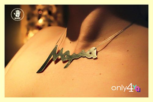Mama in greek, handmade necklace made of alpaca... only4you   http://www.only4you.gr/eshop/product_info.php?cPath=55_56&products_id=352&osCsid=bef6ab5e473f9b9be11f25334b84b34b