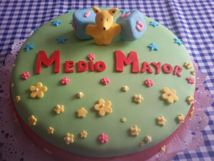 Torta para curso Medio Mayor