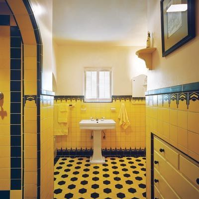 Christmas Locker Decorations My Blog together with My Design Idol Martyn Lawrence Bullard besides Donner Lakefront Contemporary Bathroom Sacramento further Art Deco as well Retro Rooms. on 1940 bathroom tile design
