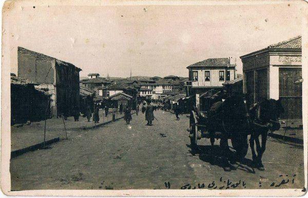 Ankara - Balık Pazarı Caddesi