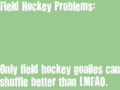 Field hockey problems