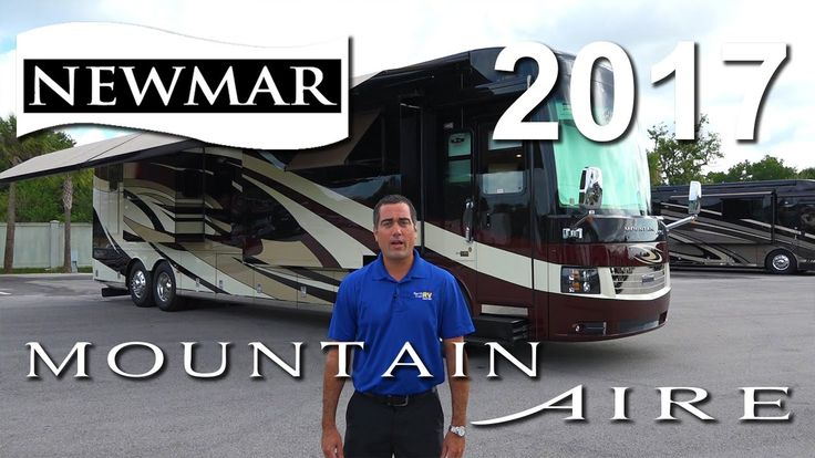 Video Walk Through Tour of the beautiful 2017 Newmar Mountain Aire luxury diesel pusher motorhome.