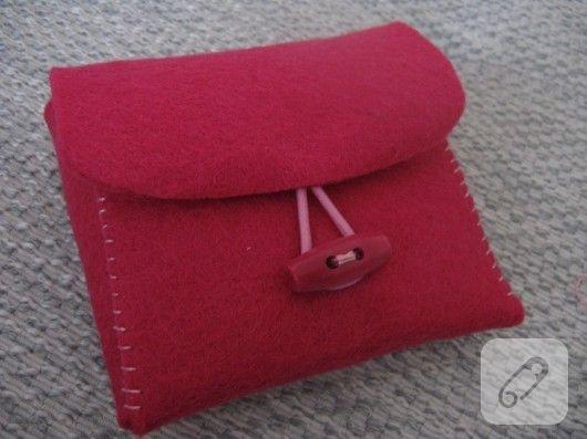 Keçe cüzdan yapımı (anlatımlı)