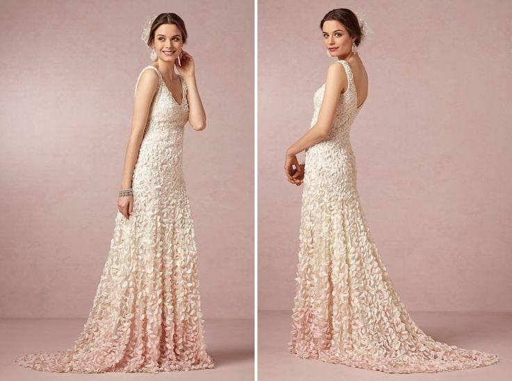344 best wedding dresses images on pinterest wedding for Non wedding dresses for brides
