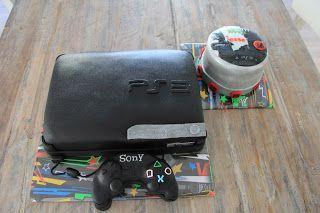 lekker zoet: PS 3 speler met controller en cd spelletje voor Je...