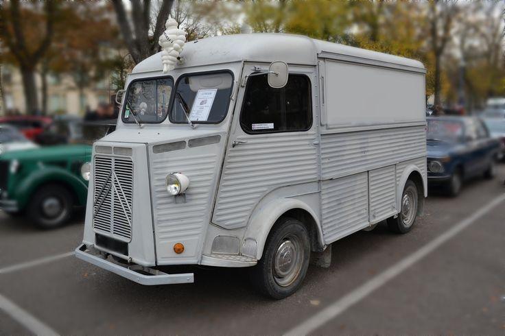 camionnette citroen hy 1959 rassemblement voitures. Black Bedroom Furniture Sets. Home Design Ideas