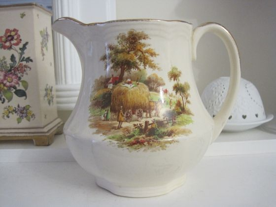 Large 1940'S Alfred Meakin THE Hayride Milk JUG | eBay