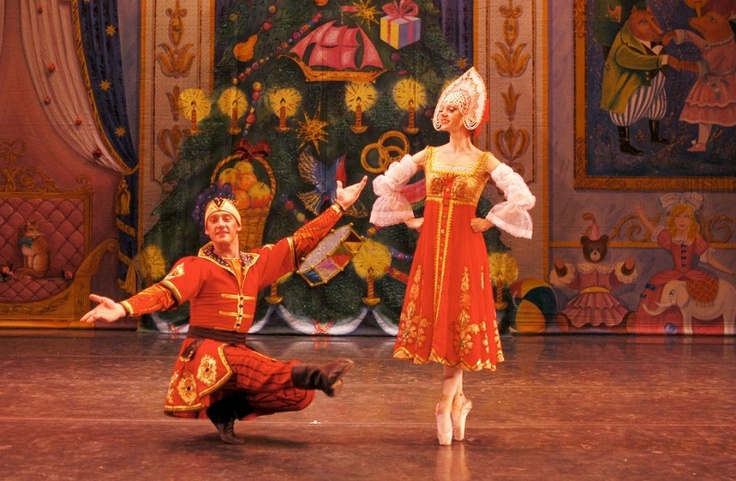 Russian variation, Act II