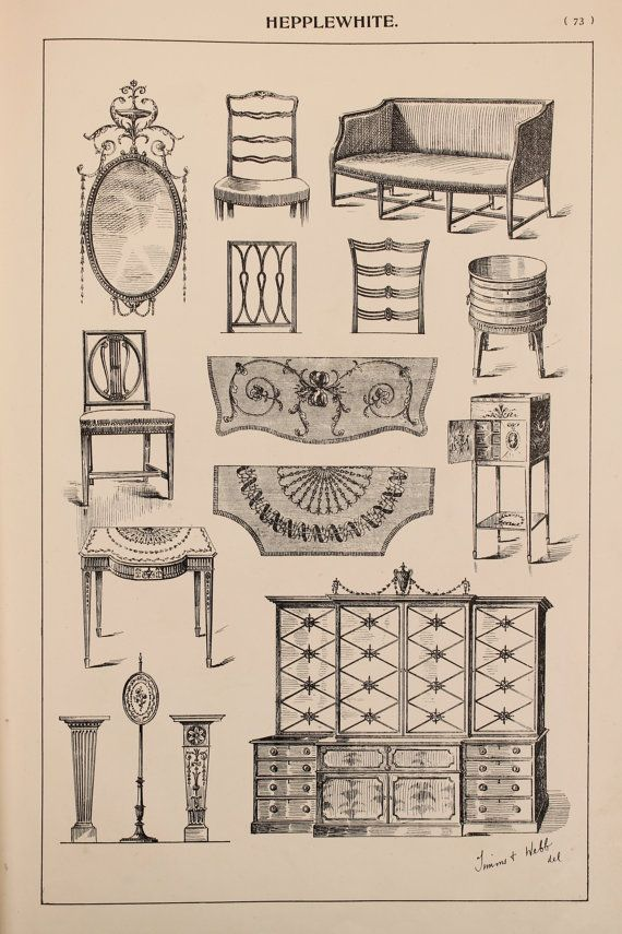 Pin By Antique Furniture Styles On Ing List In 2019 Design Drawing