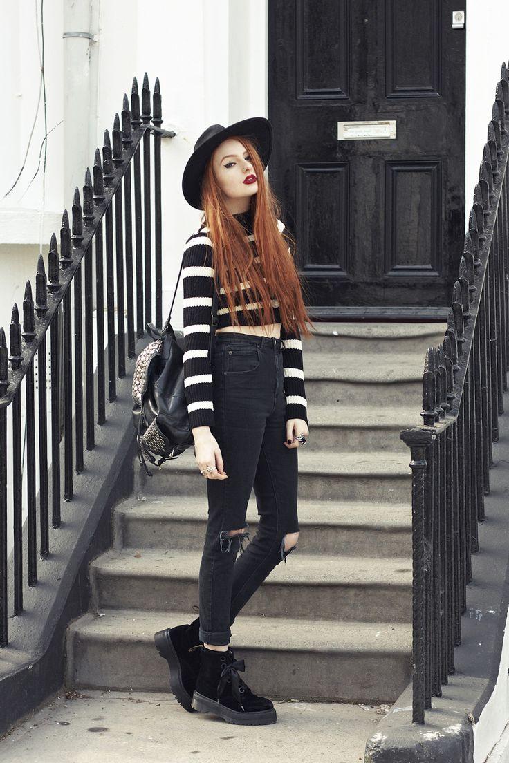 Olivia Emily - UK Fashion Blog.: Casual Stripes.