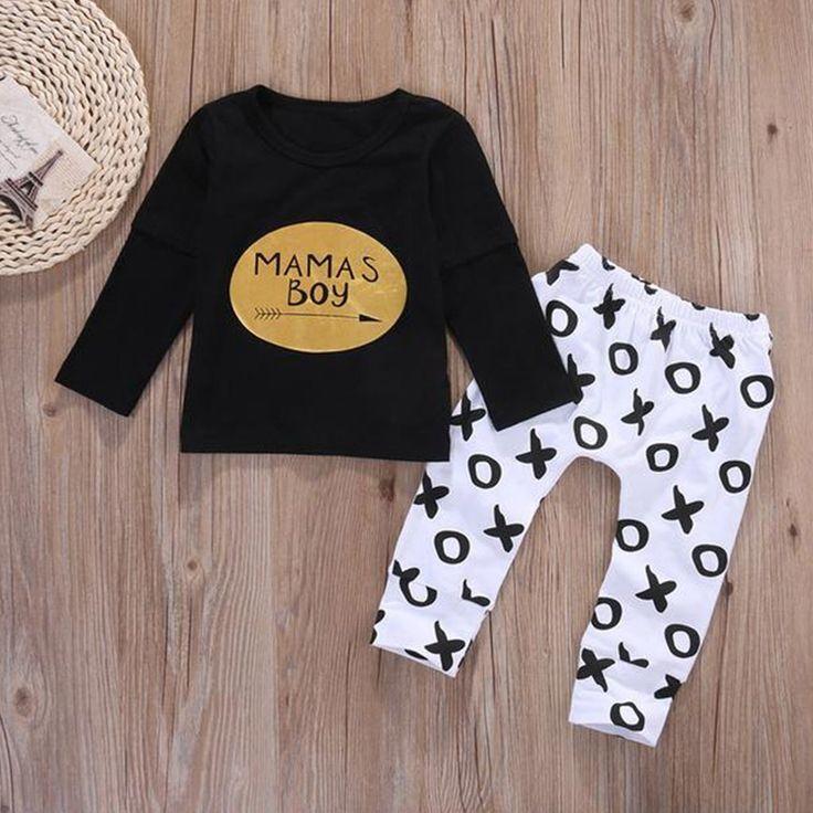 Mama's Boy XO Clothing Set