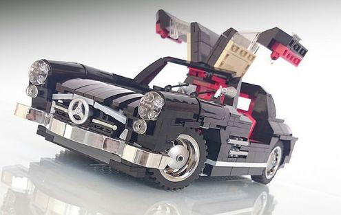 lego mercedes benz 300sl gullwing lego pinterest. Black Bedroom Furniture Sets. Home Design Ideas