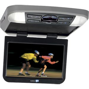 AVXMTG10UA - 10 inch widescreen LED backlit monitor / DVD player with built-in dome lights