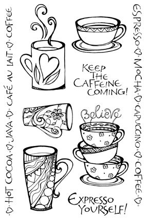 Coffee Zenspiration! - Perfect for The Pottery Stop and Coffee Shop!