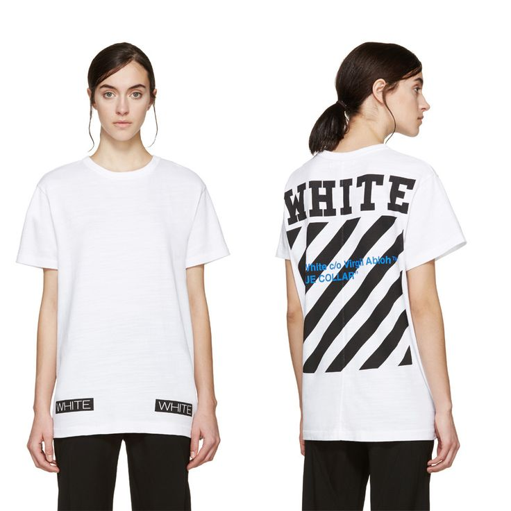 BUYMA.com off-white 国内発 SS16 バックストライププリントTシャツ(19706156)