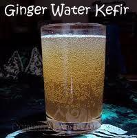 Waterkefir met gember: