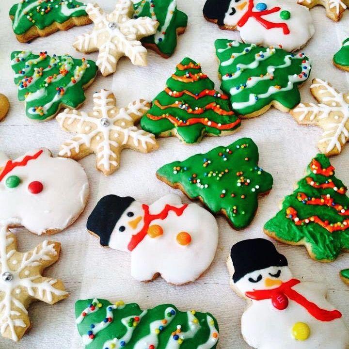 Galletitas navideñas glaseadas...deliciosas!!