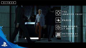 Il trailer del nuovo Hitman Elusive Target il Ladro didentità