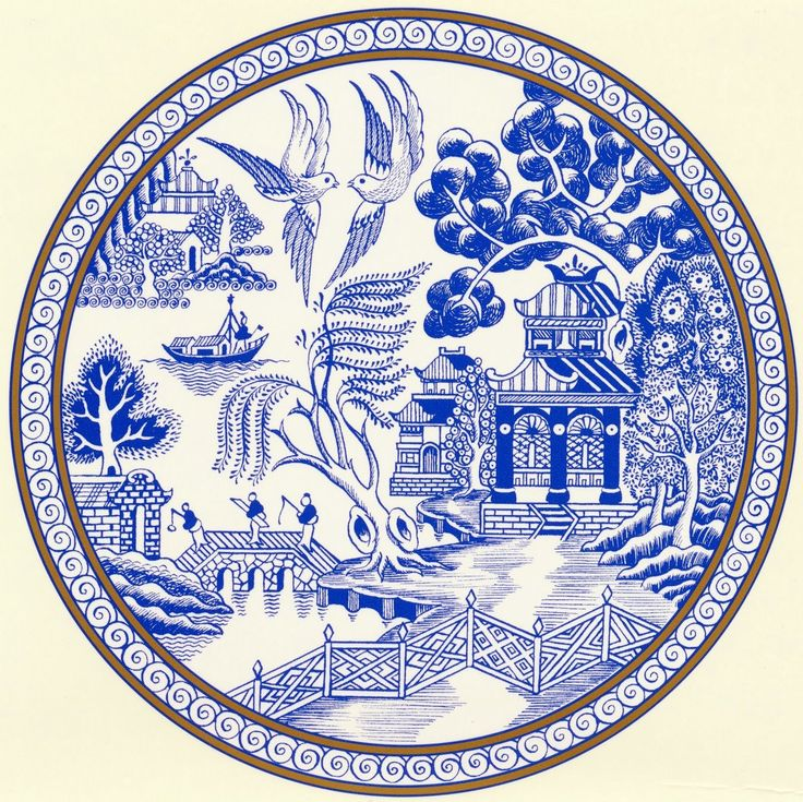 50 Best Images About Blue Willow China On Pinterest